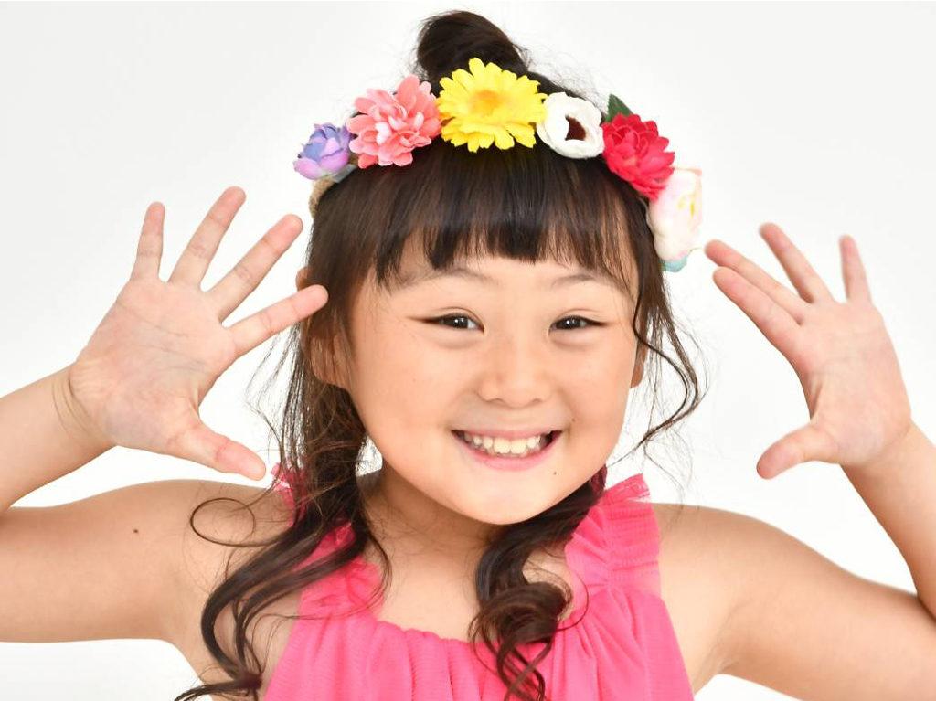 岡山歌っ子 すずちゃん(8歳)